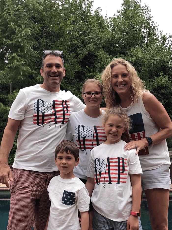 Ekaterina und Wayne Familie
