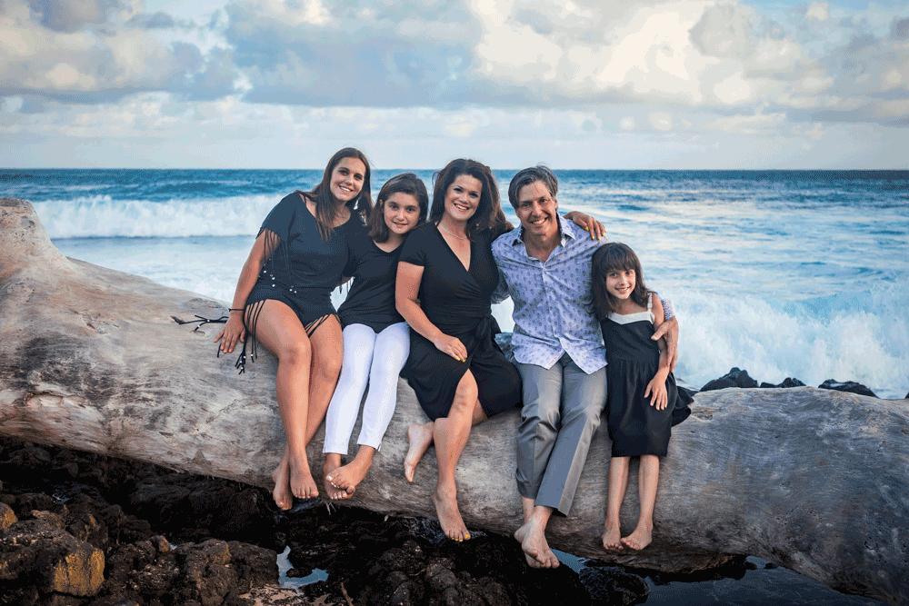Georgina und Yager Familie